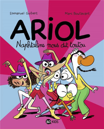 Couverture Ariol tome 16