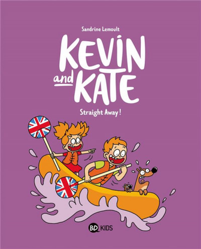 Couverture Kevin and Kate tome 5