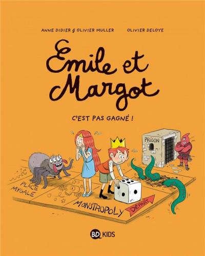Couverture Emile et Margot tome 11