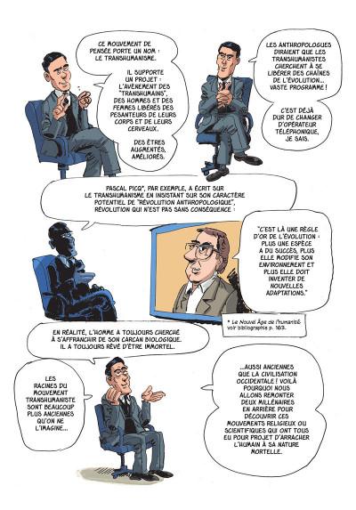 Page 5 L'incroyable histoire de l'immortalité