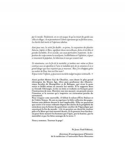 Page 4 La grande Peste tome 1