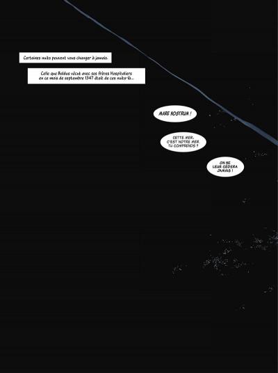 Page 6 La grande Peste tome 1