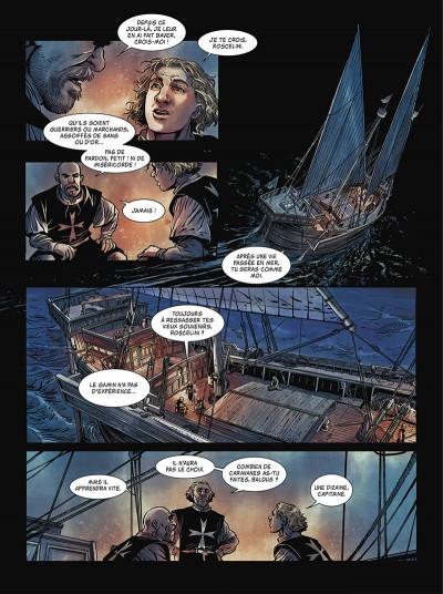 Page 8 La grande Peste tome 1