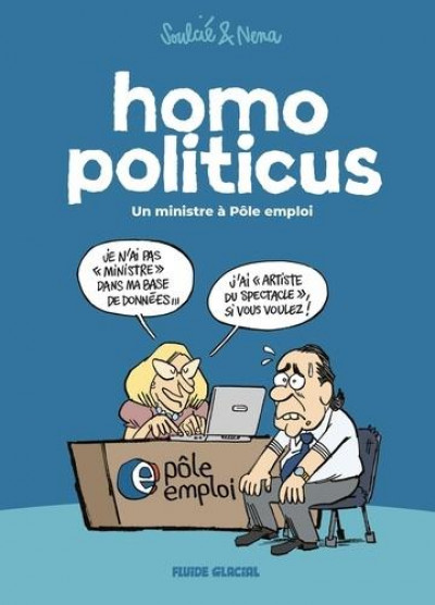 Couverture Homo politicus