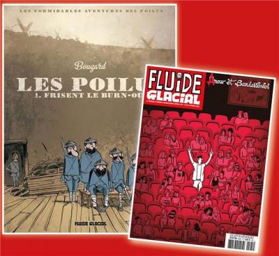 Couverture Les poilus frisent le burn-out + magazine anniversaire offert
