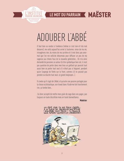 Page 3 L'abbé - institut fluide glacial