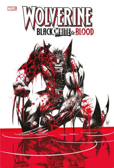 Couverture Wolverine black white & blood
