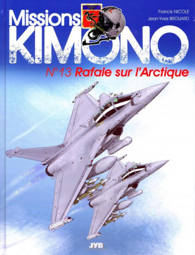 image de mission Kimono tome 13 - Rafale sur l'Arctique