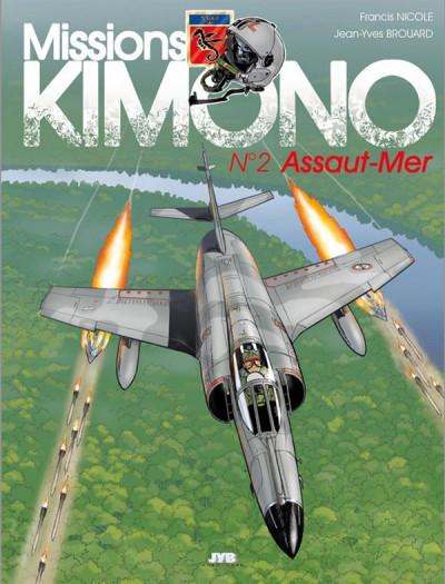 image de mission kimono tome 2 - assaut-mer (édition 2014)