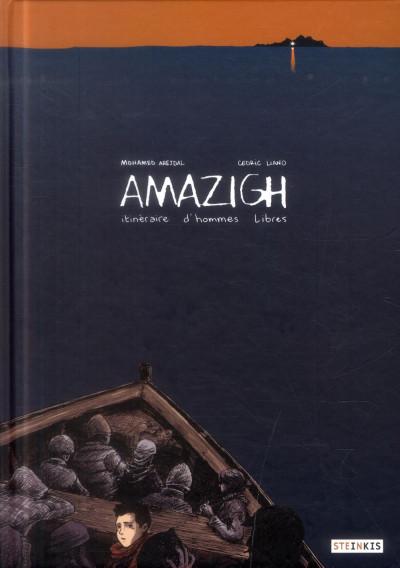 Couverture Amazigh ; itinéraire d'hommes libres