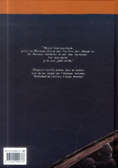 Dos Amazigh ; itinéraire d'hommes libres