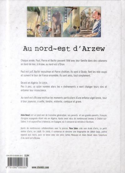Dos Au nord-est d'Arzew