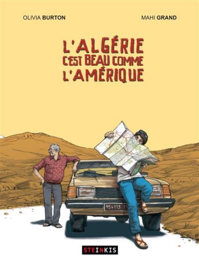 Couverture L'Algérie c'est beau comme l'Amérique