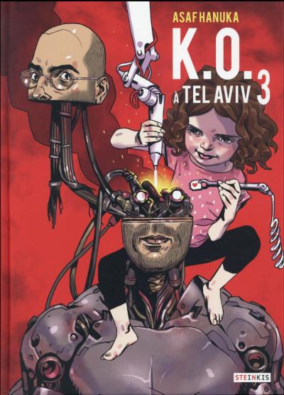 Couverture K.O. à Tel Aviv tome 3