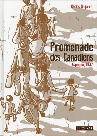 Couverture Promenades des Canadiens