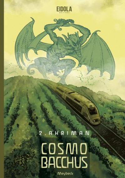 Couverture Cosmobacchus tome 2