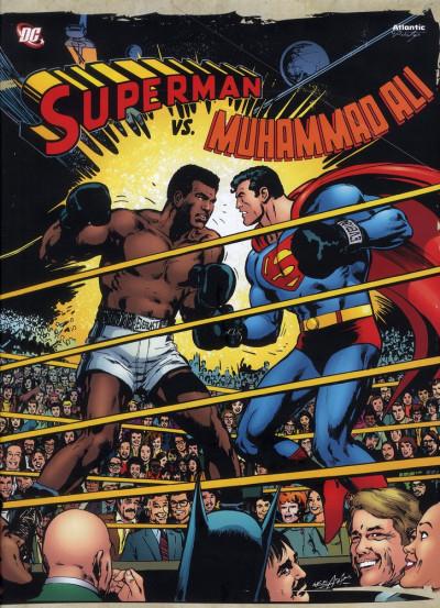Couverture Superman vs Mohammed Ali - coffret collector