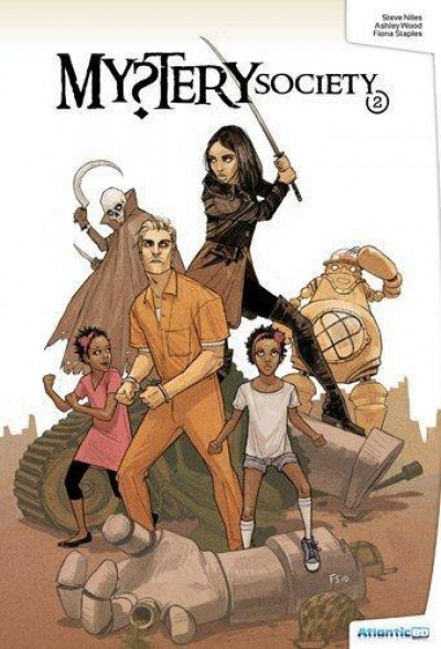 Couverture mystery society tome 2