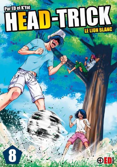 Couverture Head trick tome 8