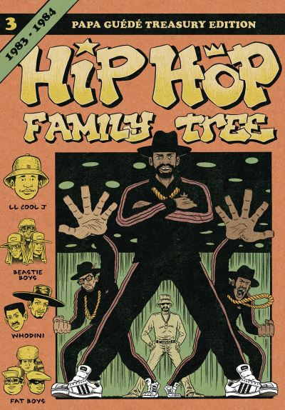 Couverture Hip-hop family tree tome 3