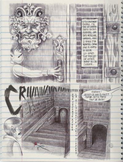 Page 3 Moi, ce que j'aime, c'est les monstres tome 1