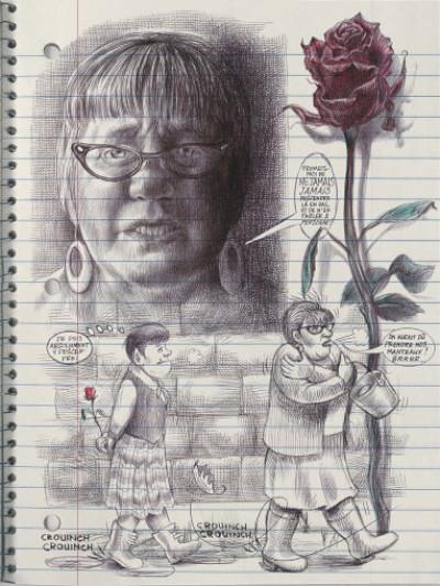 Page 4 Moi, ce que j'aime, c'est les monstres tome 1