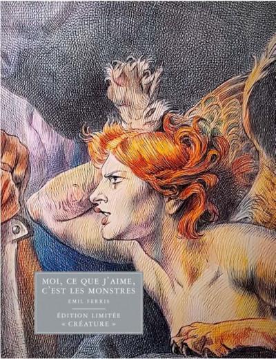 Couverture Moi, ce que j'aime c'est les monstres - édition limitée créature tome 1