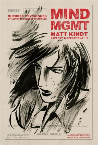 Couverture MIND MGMT - rapport d'opérations T.1 - guerres psychiques et leurs influences invisibles