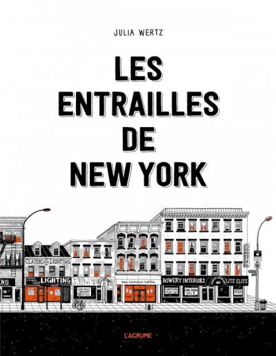 Couverture Les entrailles de New York