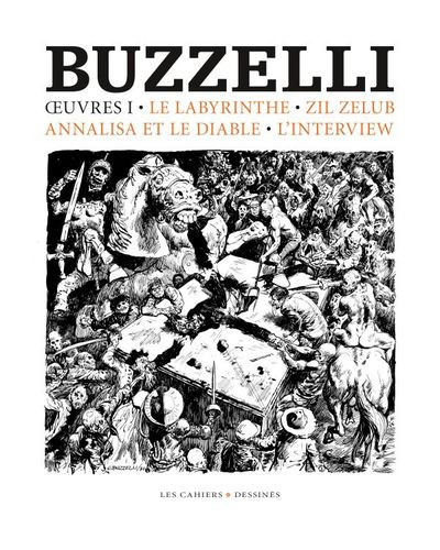 Couverture Buzzelli - Oeuvres tome 1