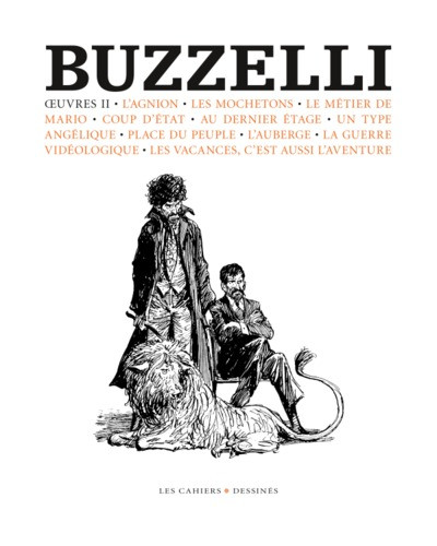 Couverture Buzzelli - oeuvres II