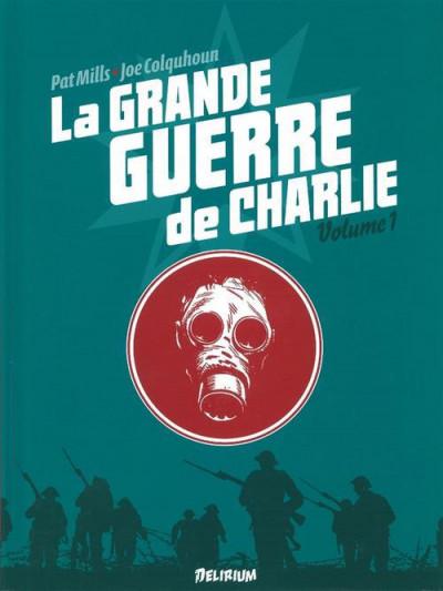 Couverture la grande guerre de charlie tome 1