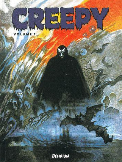 Couverture creepy - anthologie tome 1