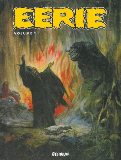 Couverture eerie - anthologie tome 1