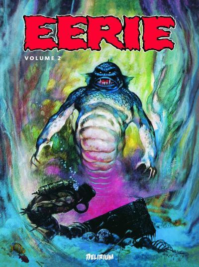 Couverture Eerie - Anthologie tome 2