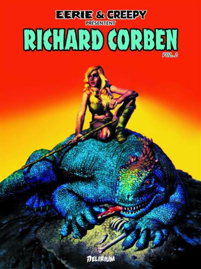 Couverture Eerie et Creepy présentent Richard Corben tome 2