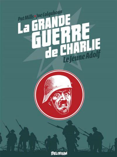 Couverture La grande guerre de Charlie tome 8 - le jeune Adolf