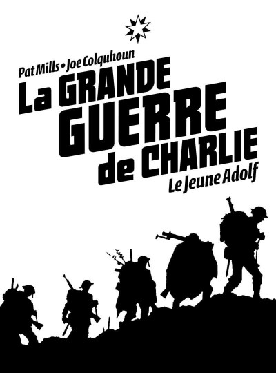 Page 1 La grande guerre de Charlie tome 8 - le jeune Adolf