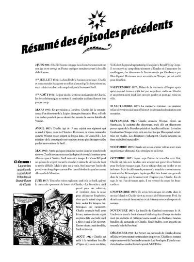 Page 3 La grande guerre de Charlie tome 8 - le jeune Adolf