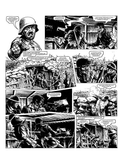Page 9 La grande guerre de Charlie tome 8 - le jeune Adolf