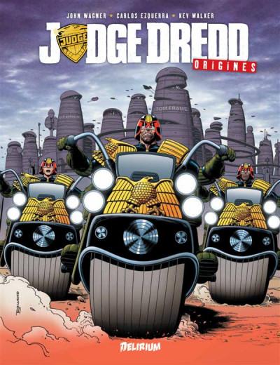 Couverture Judge Dredd - origines