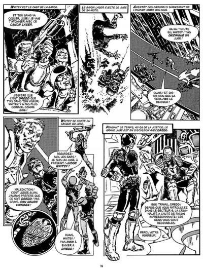 Page 2 Judge Dredd, les affaires classées tome 1