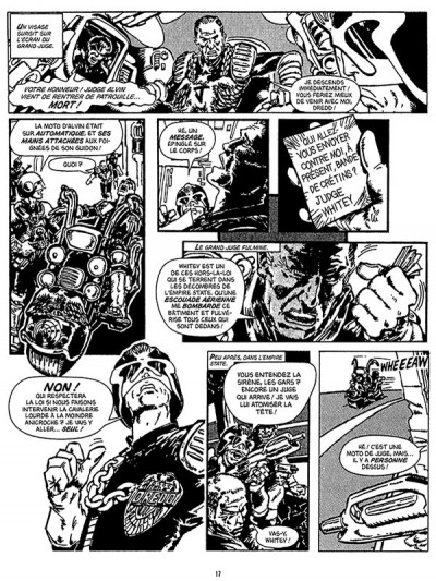 Page 3 Judge Dredd - affaires classées tome 1