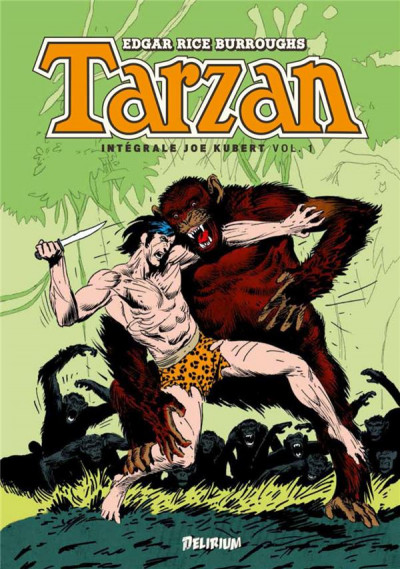 Couverture Tarzan - intégrale tome 1