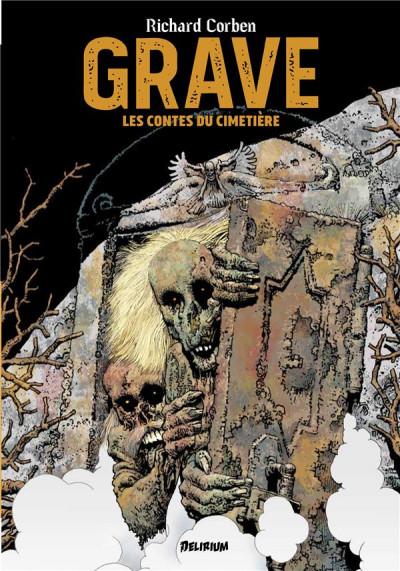 Couverture Grave - Les contes du cimetière