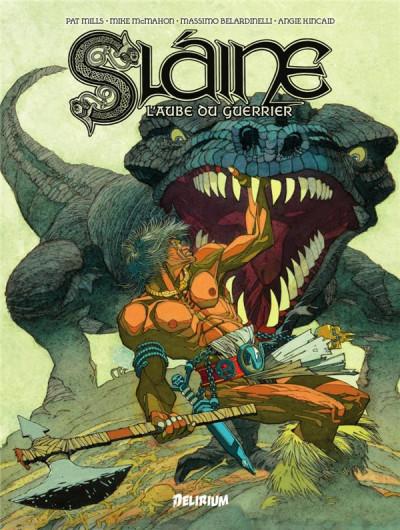 Couverture Slaine, l'aube du guerrier