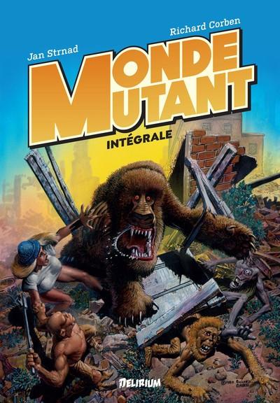Couverture Monde mutant - intégrale