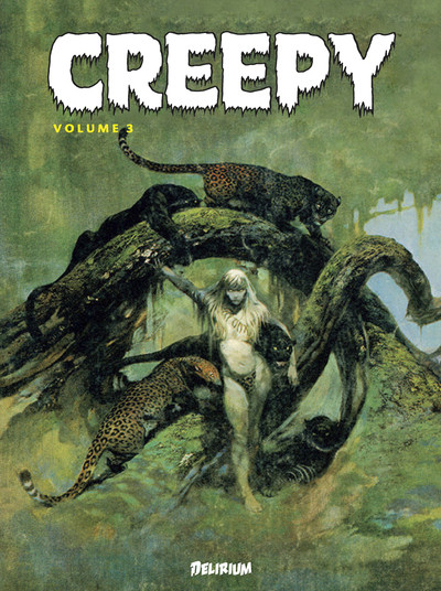 Couverture Creepy - anthologie tome 3