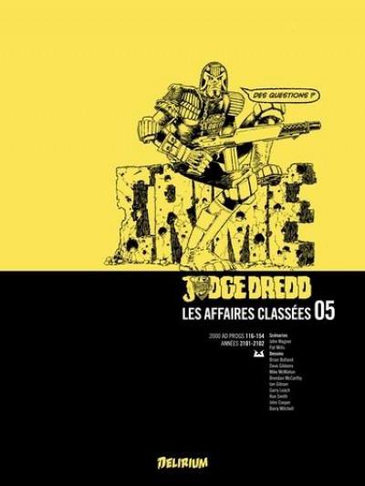 Couverture Judge Dredd - les affaires classées T.5