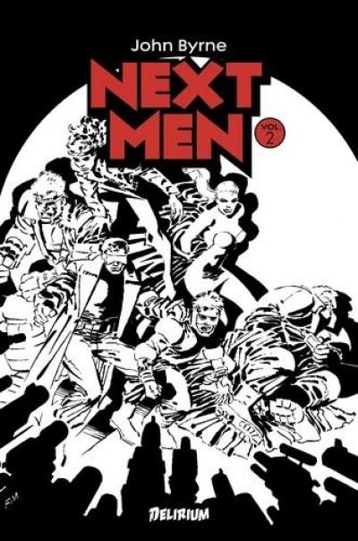 Couverture Next Men - intégrale tome 2 (couverture alternative)